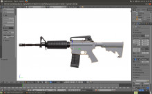 first model m4a1 (not working on it)