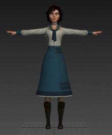 Bioshock Elizabeth Pack