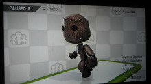 Sackboy Over Lucas
