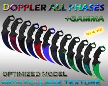 Karambit Doppler all phases