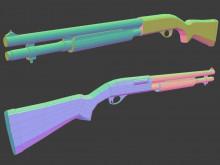 Remington 870 - UVs Done