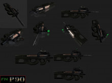 P90 Pack with Attachments