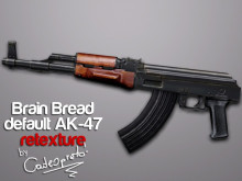 BB low poly AK-47 retexx