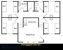 Realistic House (floorplan)