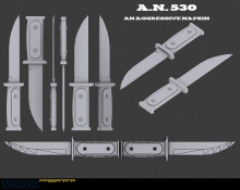 A.N. 530 Concept Knife