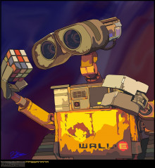 Wall-e Vector Art