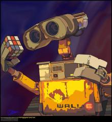 Wall-e Vector Art