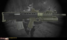 Killzone 2 ISA Rifle