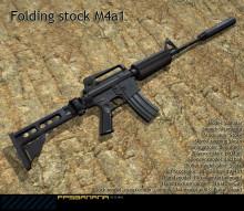 Folding Stock M4A1 Reskin