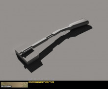 Low poly shotty (update2)