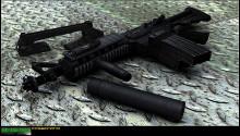 M4A1 CQB tactical!