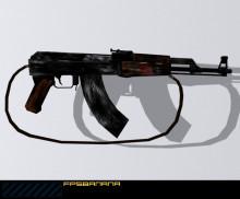 Beaten Ak 47
