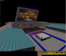 A WWE Raw Replica
