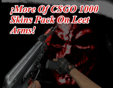 More Of 1200 Skins Pack From CSGO