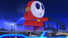 Shy Guy over Kirby