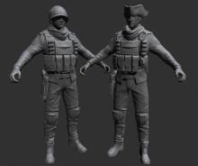 Militarized Minutemen