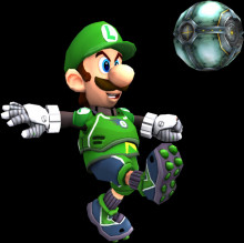 Luigi Strikers Charged