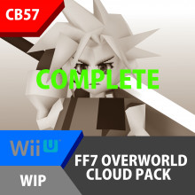 FF7 Overworld Cloud Pack