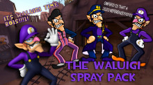 The Waluigi Spray Pack (For Team Fortress 2)