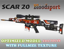 CS:GO SCAR-20 HD skins for cs 1.6