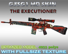 CS:GO G3SG1 HD skins for cs 1.6