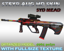 CS:GO AUG HD skins for cs 1.6
