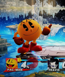 Pac-Man's Iconic Thumbs-up as Taunt (NEED HELP)