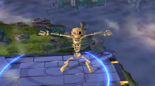 Crash Bandicoot Skeleton