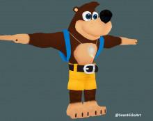 Banjo over Donkey Kong
