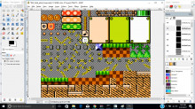 Green Hill Zone in Super Mario Maker!