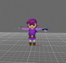 Purple Hair Link