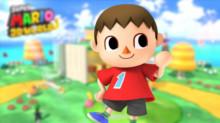 Villager Over Mario
