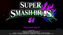 Super Smash Bros. SE