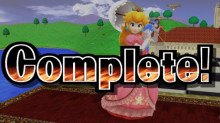 Melee remastered and ssb4 melee peach edit