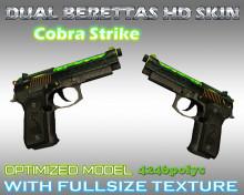 CS:GO Dual Berettas HD Skins (CS1.6)