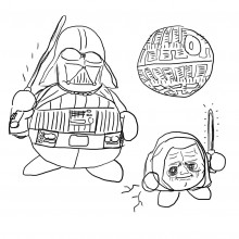 Star Wars Kirby Characters