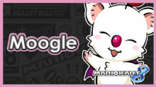 Moogle (Final Fantasy) in MK8