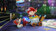 Baby Mario over Bowser Jr.