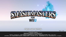 Smash Masters for Wii U Ver. 1.0