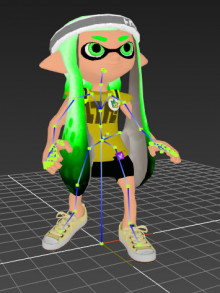 Female Inkling in sm4sh!