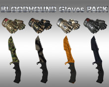 HD BLOODHOUND Gloves pack + Huntsman