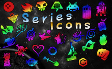 Anime & More Series Icons pack