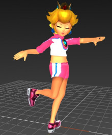 Striker Peach (Beta Outfit)