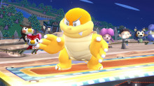 boom-boom over bowser