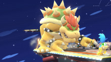 big bowser over giga-bowser