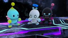 Chao pack over Kirby\jigglypuff