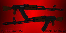 Y5´s And BDS´s Ak47 Retexturing Again