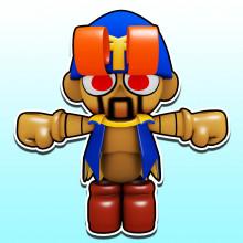 Geno (Paper Mario Style)