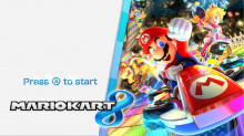 Mario Kart 8 Deluxe Title Screens