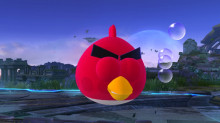 Red Bird (Angry Birds) over Jigglypuff